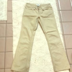 Khaki Armani exchange cotton jeans